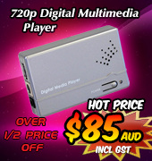 720p Digital Multimedia Player