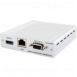 HDBaseT HDMI over CAT5e/6 Transmitter w/dual PoE