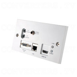 HDMI over CAT5e/6/7 Wall-plate Transmitter and Receiver