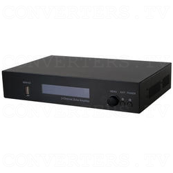 Integrated Zone Amplifier 2 Channel with HDBaseT