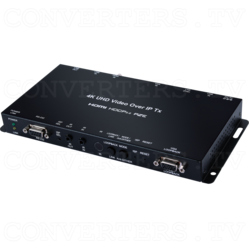 HDMI/VGA over IP Extender with USB/LAN Serving