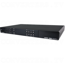 4x4 HDMI Matrix UHD 6G with USB Line Extenders