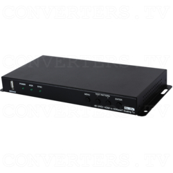 HDMI to HDBaseT Scaler with Audio Output