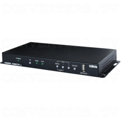HDMI, VGA and Component Video to 4K UHD+ HDMI Scaler