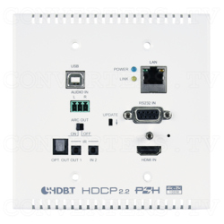 HDMI over CAT Cable Wall Plate Transmitter w/ 48V PoH