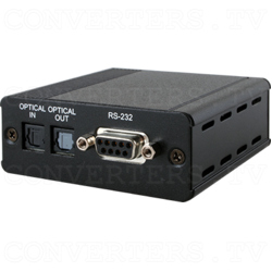 Optical Audio over CAT Cable Transmitter w/ RS-232