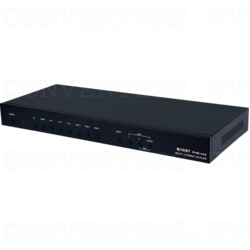 Multi Video to HDMI, VGA and HDBaseT Scaler (PSE)