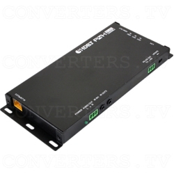 HDMI/Audio over CAT5e/6/7 Receiver with 48V PoH