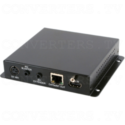 HDMI over CAT5e/6/7 Transmitter with 48V PoH
