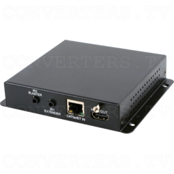 HDMI over CAT5e/6/7 Receiver with 48V PoH