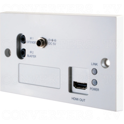 HDMI 4K 3D over CAT5e/6/7 Wall-plate Receiver