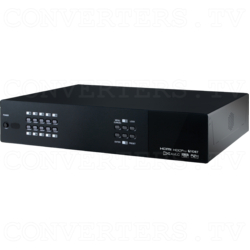 4K UHD+ 10×10 HDMI/HDBaseT Matrix with AVLC & Audio Matrixing