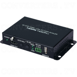 4K UHD HDMI/VGA to HDMI Switching Scaler