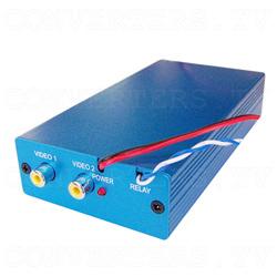 Car Navigation Screen Dual Video PAL NTSC to RGB Converter