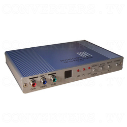 DVI Digital scaler with ultra high bandwidth