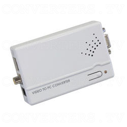PAL-NTSC Video to WXGA Scaler Converter