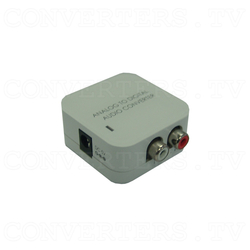 Analog L/R to Digital Audio Converter