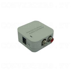 Analog L/R to Digital Audio Converter