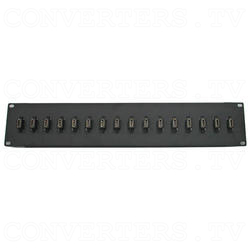 16 Way HDMI Female to Female Couplers Patch Panel