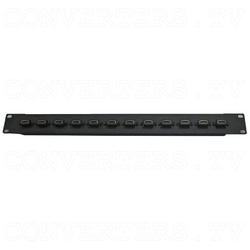 HDMI 12 Way Female to Female Patch Panel