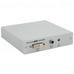 DVI Over CAT5 Receiver Box - 100 meters