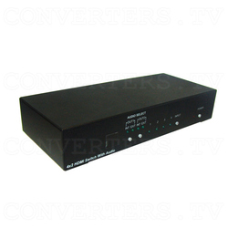 HDMI v1.3 4 In 2 Out Switcher with Audio