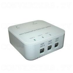 Mini DisplayPort 1 In 3 Out Extender Splitter