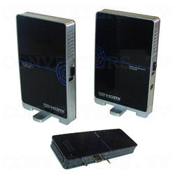 HDMI HD Wireless Transmitter & Receiver System w/4 Input Switch