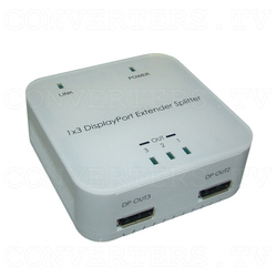 DisplayPort Extender Splitter 1 In 3 Out