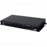 HDBaseT to Dual 4K HDMI Scaler with Audio Re-embedding