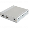 1x2 HDMI over HDMI and CAT5e/6/7 Splitter with 24v PoC