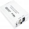 Digital Co-ax to Analog L/R Audio Converter with Dolby Digital and DTSM 2.0 Decoder