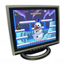 15 inch CGA EGA VGA LCD Desktop Monitor - Multi-Frequency