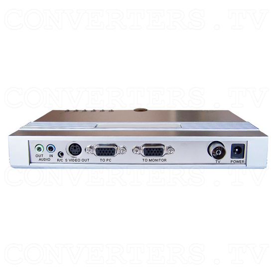 Stand Alone TV Tuner Box - Smart TV EZ-2 - Back View