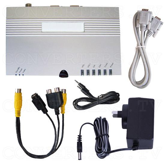 Stand Alone TV Tuner Box - Smart TV EZ-2 - Full Kit