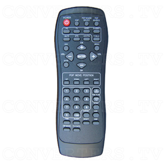 PAL NTSC to SXGA Converter with TV Box - Remote Control