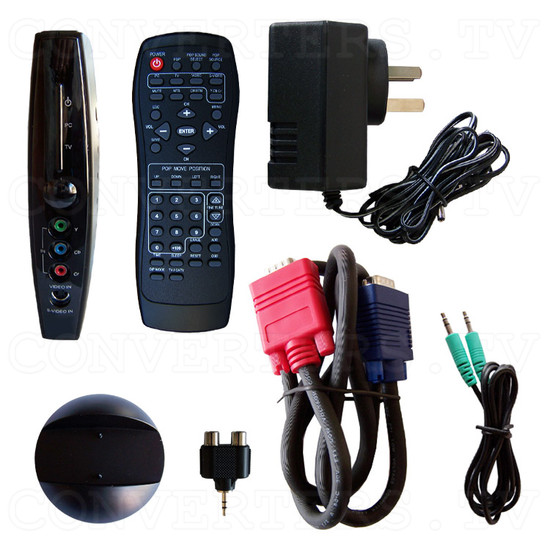 PAL NTSC to SXGA Converter with TV Box - Full Kit