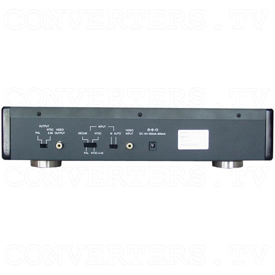 NTSC to PAL (PAL to NTSC) Converter (CND-100P/PLUS) - Back View