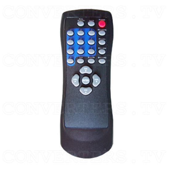 Digital HDTV capture box - Remote Control