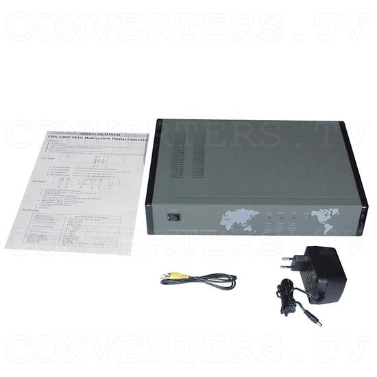 NTSC to PAL (PAL to NTSC) Converter (CND-100P/PLUS) - Full Kit