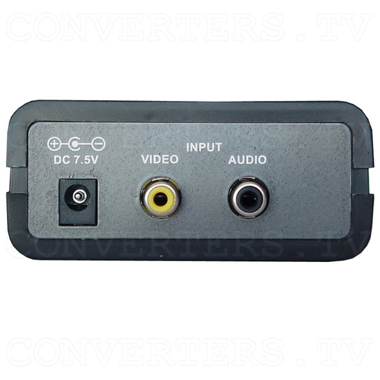 Analog NTSC to PAL Converter(CN-100P) - Back View
