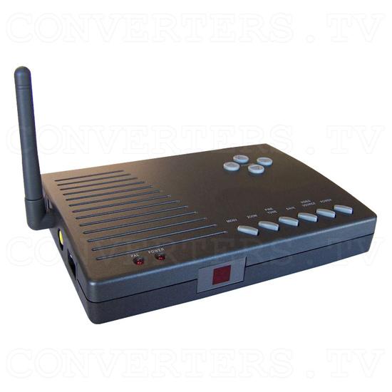 PC to TV Converter with 2.4Ghz AV sender - Full View of Transmitter