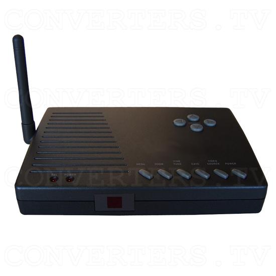 PC to TV Converter with 2.4Ghz AV sender - Front View of Transmitter