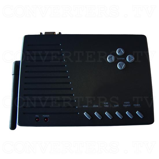 PC to TV Converter with 2.4Ghz AV sender - Top View of Transmitter