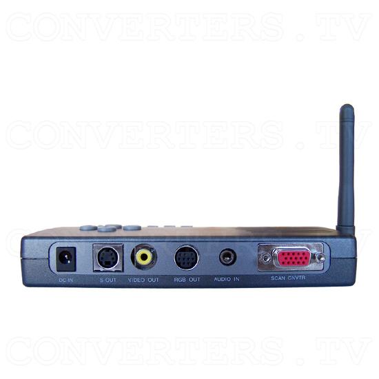 PC to TV Converter with 2.4Ghz AV sender - Back View of Transmitter