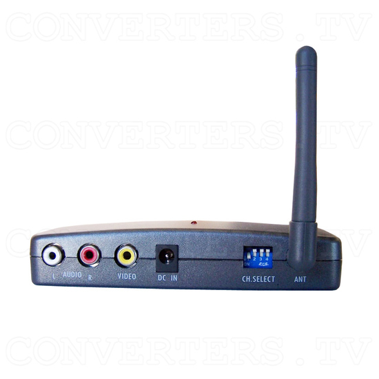 PC to TV Converter with 2.4Ghz AV sender - Side View of Receiver