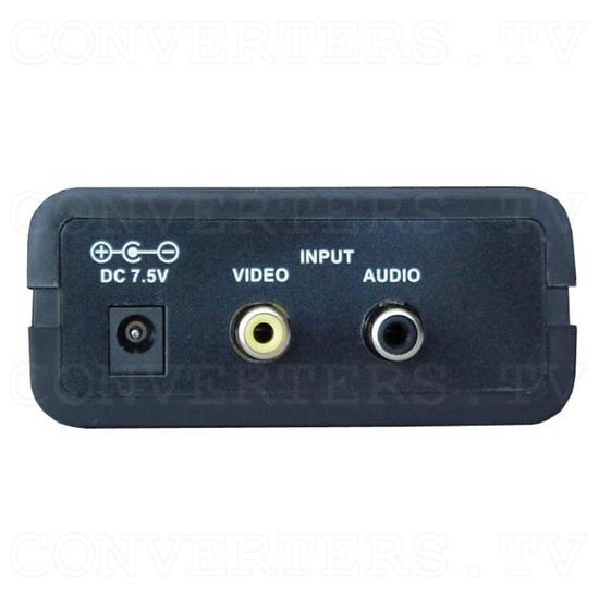 Analog PAL to NTSC Converter(CP-100N) - Back View