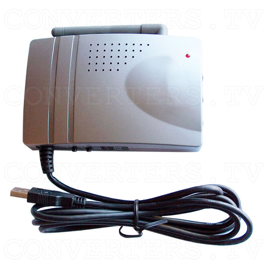 2.4GHz wireless CMOS camera & receiver with USB Video Capture - Receiver - Back View