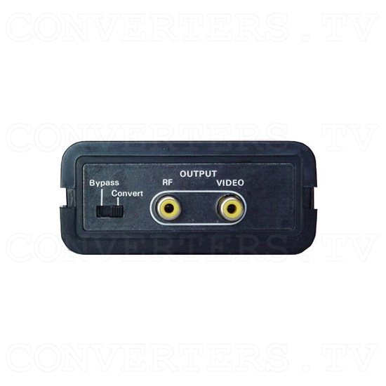Analog NTSC to PAL with RF output(CN-100P/RF) - Front View
