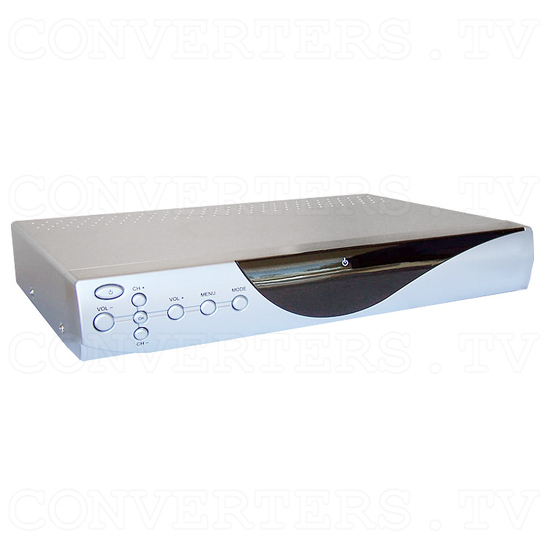 Digital Video & Audio Set Top Box with Recording - Full View